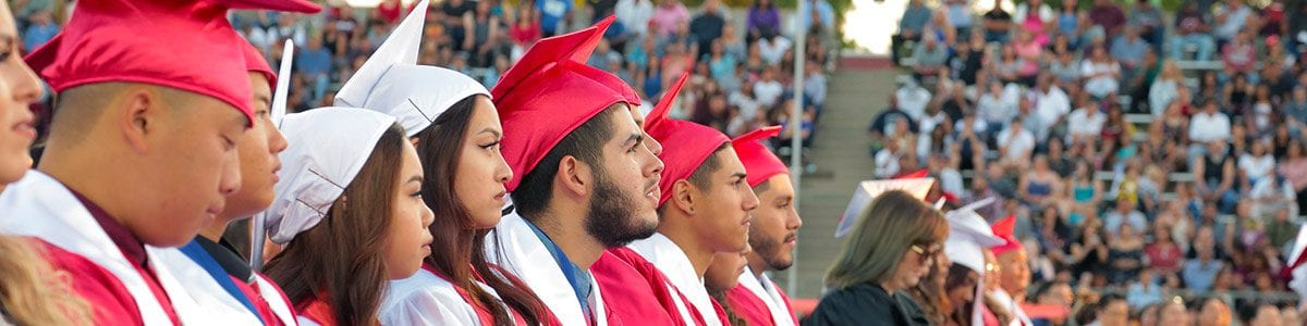 Fresno Unified graduates.